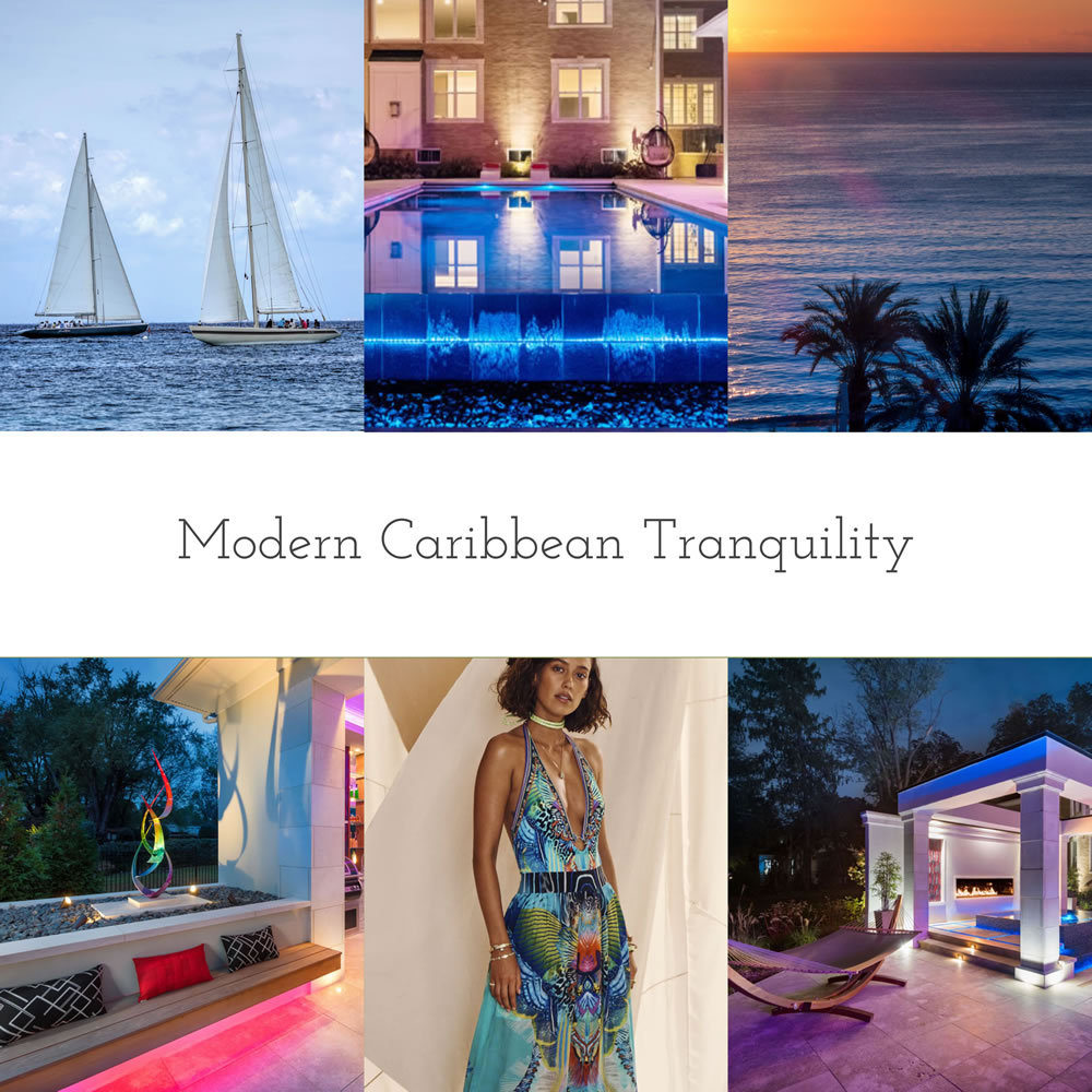 Modern Caribbean Tranquility